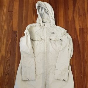 THE NORTH FACE White HYVENT Waterproof MOUNTAIN LI